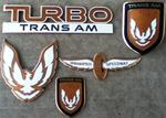 1989 Turbo Trans Am emblem restoration