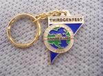 Thirdgen Fest '06 5th Anniversary keychain (gold)