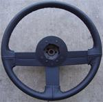 82-89 Camaro/IROC/Z28 recovered leather wrapped steering wheel NICE!!!