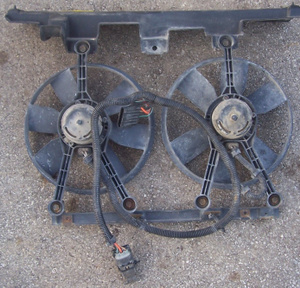 82 92 Camaro Firebird Dual Fan Assembly W Harness And Relay